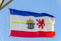 Flag of Mecklenburg-Vorpommern Stock Images