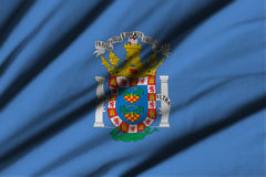 Flag of Melilla Stock Images