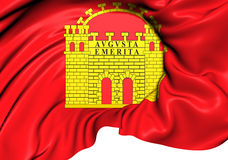 Flag of Merida, Spain. Royalty Free Stock Photography