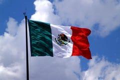 flag mexican Στοκ φωτογραφία με δικαίωμα ελεύθερης χρήσης