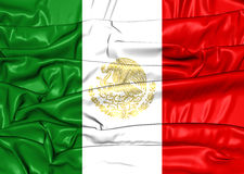Flag of Mexico Stock Photography