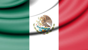 Flag of Mexico. Stock Images