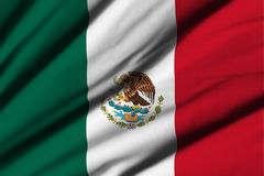 Flag of Mexico Stock Images