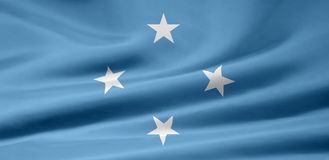 Flag of Micronesia stock images