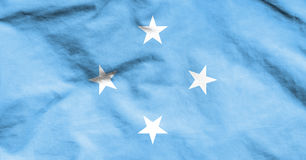 Flag of Micronesia. 3d Rendered Flag of Micronesia Stock Photo