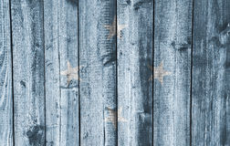 Flag of the Micronesia on weathered wood Royalty Free Stock Image