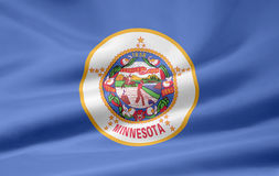 Flag of Minnesota royalty free stock photography