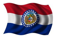 Flag of Missouri Royalty Free Stock Photography