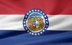 Flag of Missouri Stock Images
