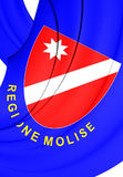 Flag of Molise Region, Italy. Royalty Free Stock Photography