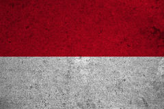 Flag Monaco Royalty Free Stock Photo