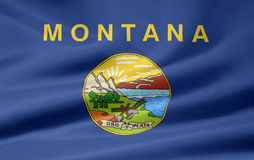 Flag of Montana Royalty Free Stock Photo