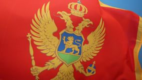 Flag of Montenegro. The national flag of Montenegro was officially adopted on the statehood day of Montenegro on 13 July 2004 at the proposal of the government stock video