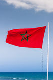 Flag of Morocco Royalty Free Stock Photography