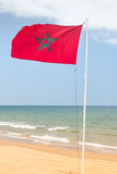 Flag of Morocco Royalty Free Stock Image