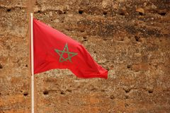 Flag of Morocco Stock Image