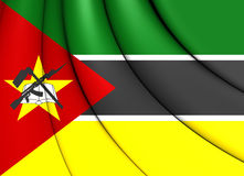 Flag of Mozambique Stock Photos