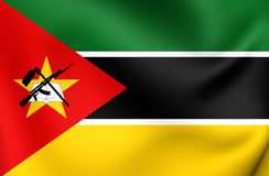 Flag of the Mozambique Royalty Free Stock Photos