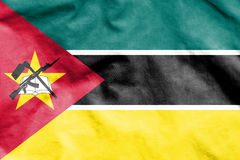 Flag of Mozambique. 3d Rendered Flag of Mozambique Stock Images