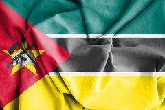 Flag of Mozambique. 3d Rendered Flag of Mozambique Stock Image