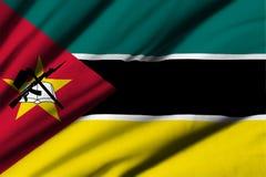 Flag of Mozambique Royalty Free Stock Photos