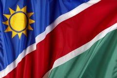 Flag of Namibia Stock Image