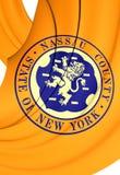 Flag of Nassau County, New York. Stock Image