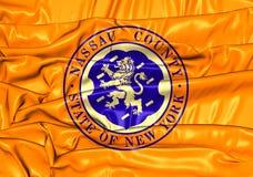 Flag of Nassau County New York, USA. Royalty Free Stock Image