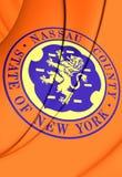 Flag of Nassau County New York, USA. Stock Images