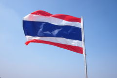 Flag. Of Nation Thailand Stock Image