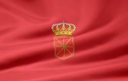 Flag of Navarre - Spain Royalty Free Stock Photos