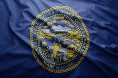 Flag of Nebraska state Royalty Free Stock Photos