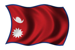 Flag of Nepal Stock Images
