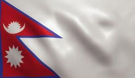 flag nepalese Стоковые Фотографии RF