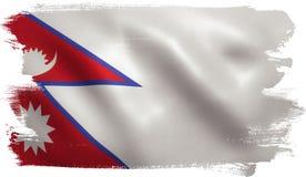 flag nepalese Стоковые Изображения RF