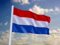 Flag of the netherlands Stock Photos