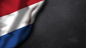 Flag of the Netherlands Stock Image