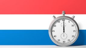 Flag of Netherlands Stock Image
