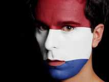 Flag of Netherlands Stock Photography