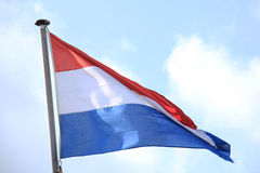 Flag of the Netherlands Stock Photography