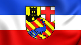 Flag of Neuwied City, Germany. Royalty Free Stock Image