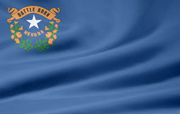 Flag of Nevada Stock Photography