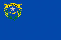 Flag of Nevada Royalty Free Stock Photography