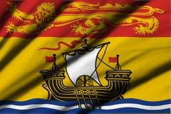 Flag of New Brunswick Stock Photos