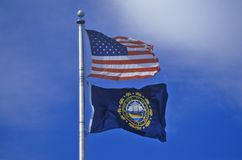 Flag of New Hampshire Stock Photography