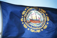 Flag of New Hampshire Stock Photo