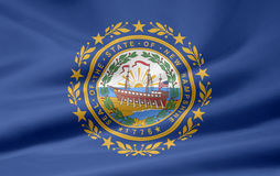 Flag of New Hampshire Royalty Free Stock Photos
