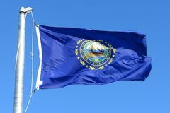 Flag of New Hampshire Stock Images