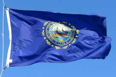 Flag of New Hampshire Royalty Free Stock Image