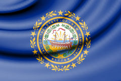Flag of New Hampshire, USA. Royalty Free Stock Photography